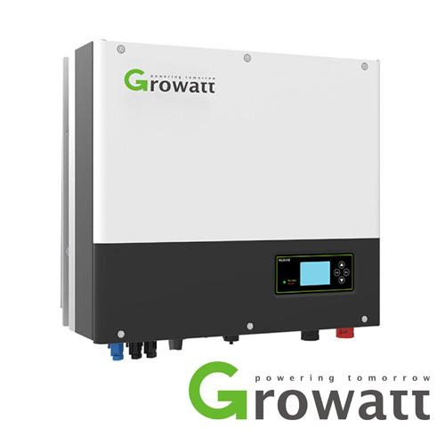 Growatt 5kW Single Phase Solar Inverter Dual MPPT IP65 AC Battery Ready Hybrid With EPS & WIFI Capability